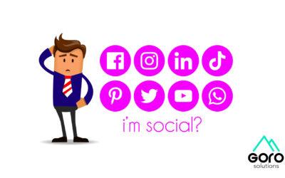 I'm social?