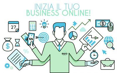 Inizia il tuo business online!